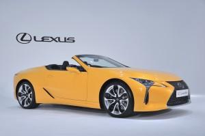 Lexus LC 500 Convertible_Naples Yellow Contrast Layering Colour