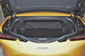 Lexus LC 500 Convertible_Boot_Cargo Space