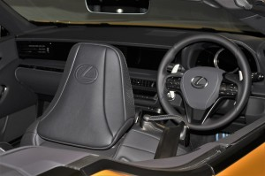 Lexus LC 500 Convertible_Semi-aniline seat_Headrest_Steering