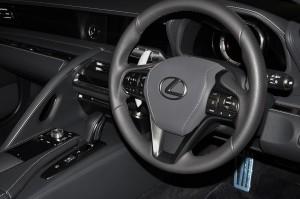 Lexus LC 500 Convertible_Interior_Steering