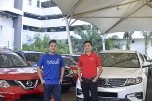 L-R: Calvin Foo, Acting Chief Executive Officer of Fundaztic & Andy Teh, Chief Executive Officer of muv