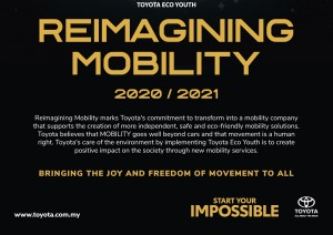 Toyota Eco Youth 2020_Reimagining Mobility_Malaysia