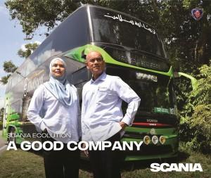 Konsortium E-Mutiara's Tuan Haji Che Ibrahim Che Ismail (Executive Chairman), with his wife and Partner, Puan Naemah (Director of Administration and Legal Affairs)