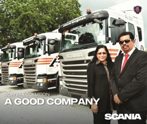 Mr S. Palani, Managing Director of AONE Group with partner Mrs Laxmi Bhai