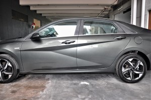 Hyundai Elantra_Side_Parametric Dynamics Design