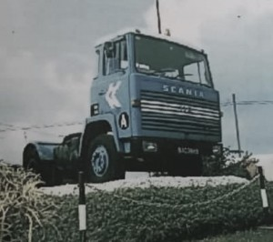 First Scania Truck delivered to Kontena Nasional_1971_LB110