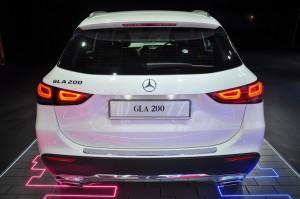 Mercedes-Benz GLA 200 Progressive Line_Rear View_Tailgate