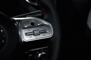 Mercedes-Benz GLA 250 AMG Line_Steering Buttons_Cruise Control