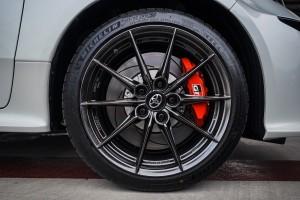 GR Yaris_BBS Alloy Wheel_Brake Disc_Caliper_Michelin Tyre