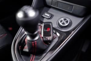 GR Yaris_6 Speed Manual Gear Lever_Key Fob_Drive Mode Button