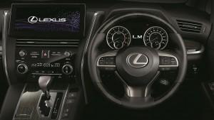 Lexus LM350_Cockpit_Steering_Touchscreen