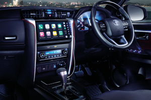 Toyota Fortuner_Ambient Lighting_Infotainment_Steering_Cabin