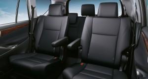 Toyota Innova_2nd-row Captain Seats