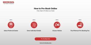 Honda Malaysia_Online Pre-Booking