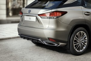Lexus RX Luxury Special Edition_Rear Bumper_Tail Lights_Diffuser