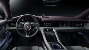 Porsche Taycan_Interior_Dashboard_Steering
