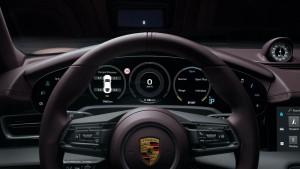 Porsche Taycan_Steering_Meter Cluster_Multi Info Display