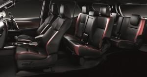 Toyota Fortuner_Interior_Seats