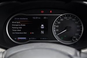 Nissan Almera Turbo_Driver Assistance Menu