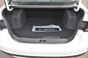 Nissan Almera Turbo_Boot_Cargo Space