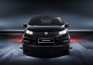 Proton Persona Black Edition_Front View