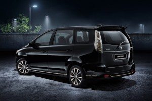 Proton Exora Black  Edition_Quarter Rear