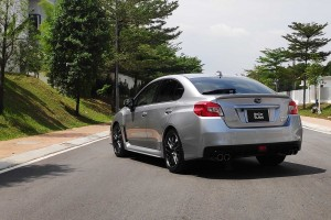 GoCar Subs Sports_Subaru WRX_Rear