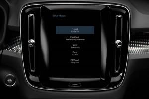 Volvo_PHEV_Drive Mode Menu_Touchscreen