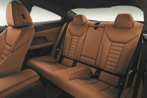 BMW 430i Coupe M Sport_Rear Seats