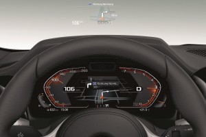 BMW 430i Coupe M Sport_Head-up Display_Meter Cluster_Navigation