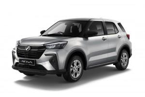 Perodua Ativa X_Front_Silver