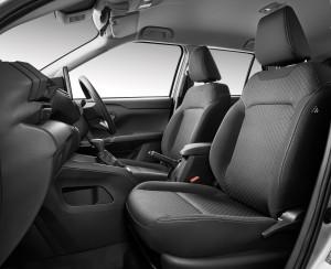 Perodua Ativa X_Front Seats