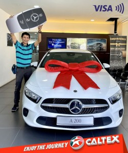 Caltex_Tap & Win With Visa Contactless_Hee Kee Liong_Mercedes-Benz A200