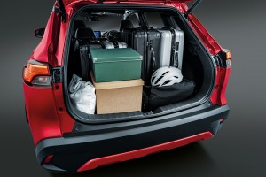 Toyota Corolla Cross Boot Space