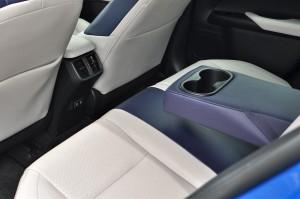 Lexus UX 200_Rear Seat_Armrest_Air Vents_USB Ports