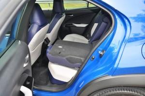 Lexus UX 200_Rear Seat Folded