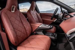 BMW iX_Centre Console_Armrest_Seats