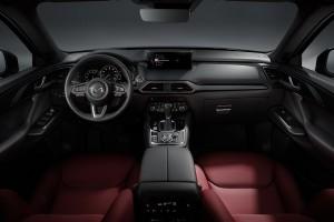 Mazda CX-9_Interior_Dashboard_Steering