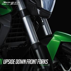Modenas_Dominar D400_Upside Down Fork