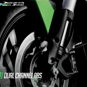 Modenas Dominar D400_Dual Channel ABS