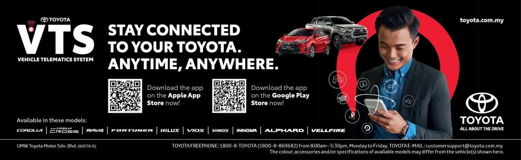 Toyota Vehicle Telematics System