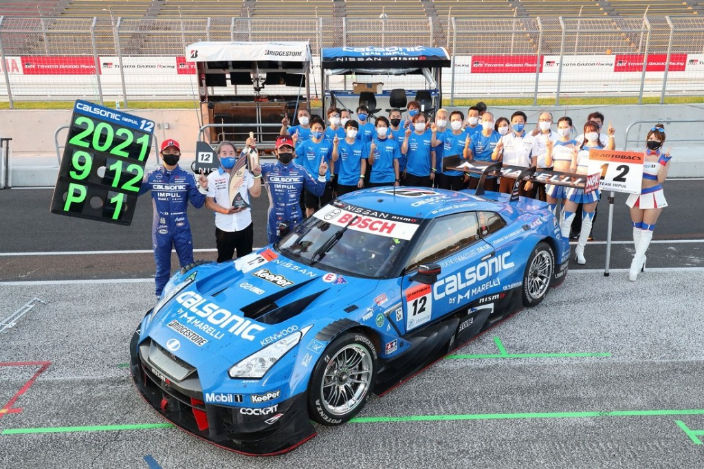 Nissan GT-R NISMO_Car #12_CALSONIC IMPUL Team